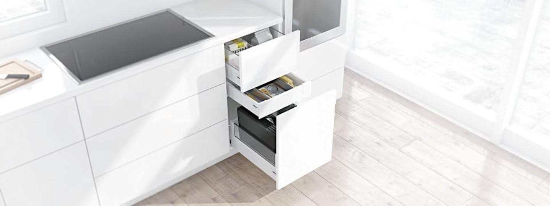 Base per utensili per la cucina al forno blum for Utensili per la cucina