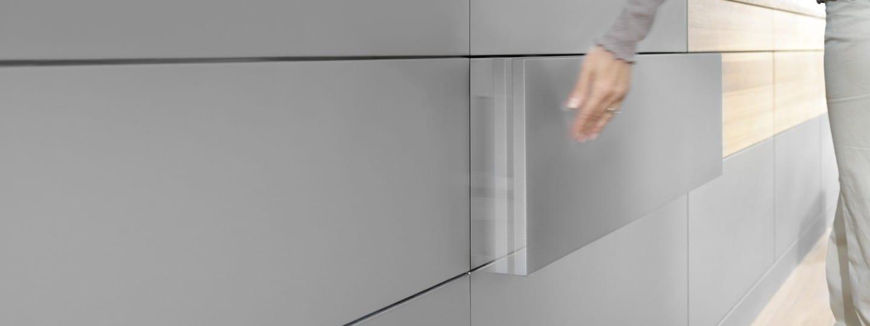 Türöffnungssystem für grifflose Möbeltüren zum nachrüsten NEU