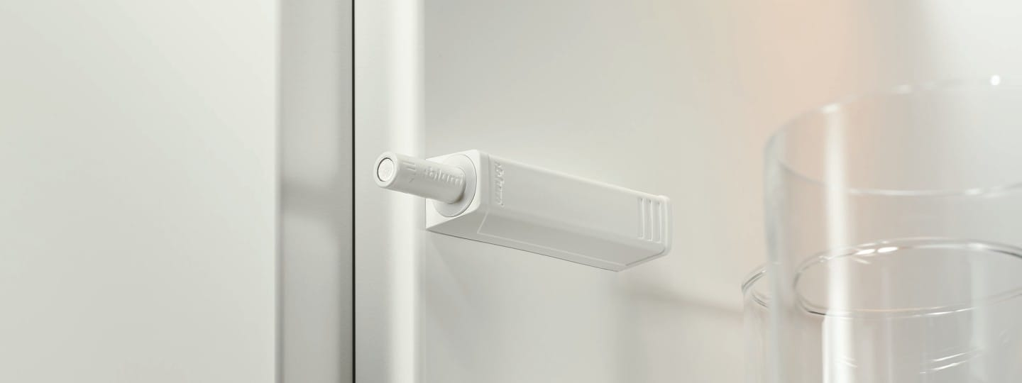 Tip On For Doors At A Glance Blum