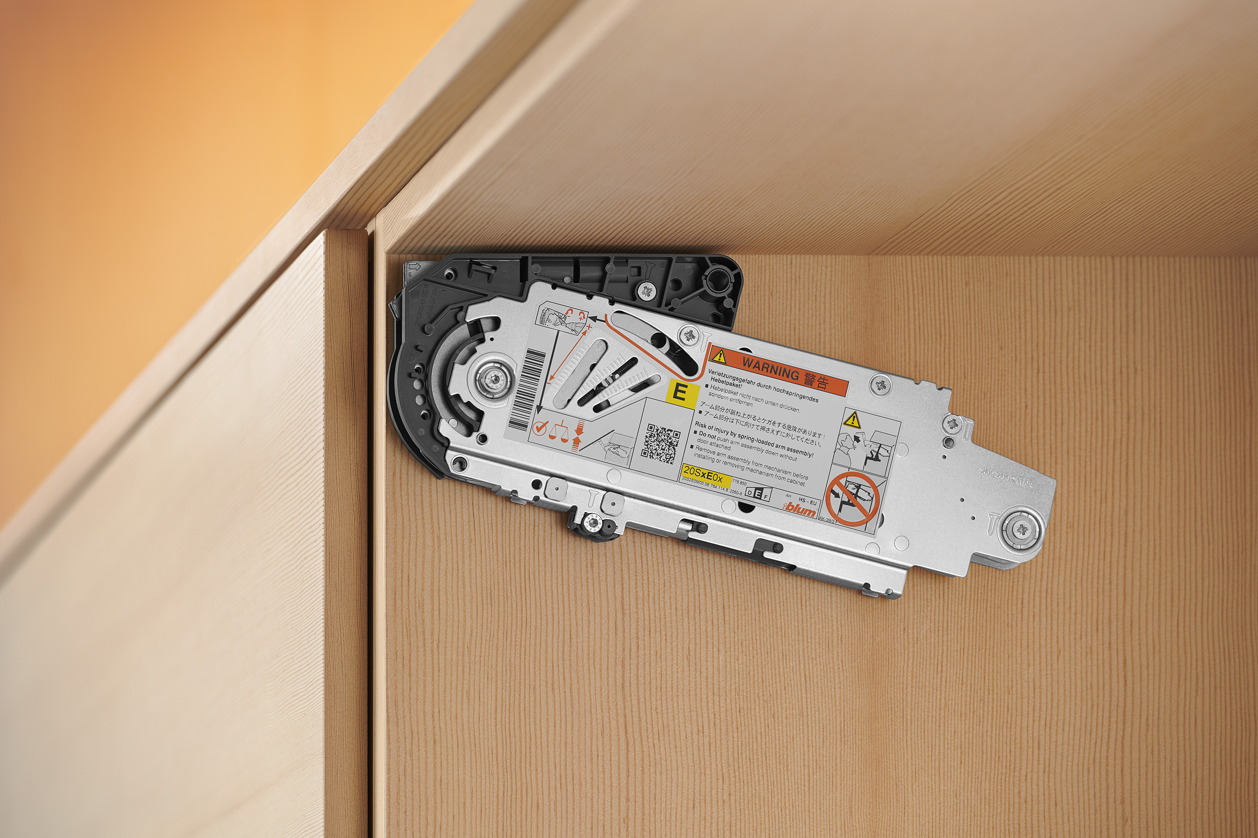 Aventos Hs Installation And Assembly Blum