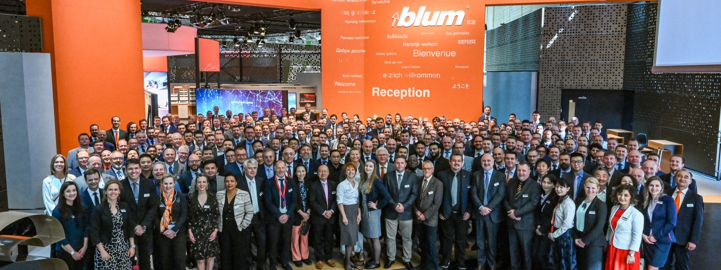 Blum at the interzum 2019